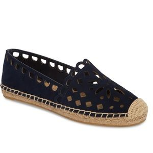 tory burch may perforated espadrilles flat